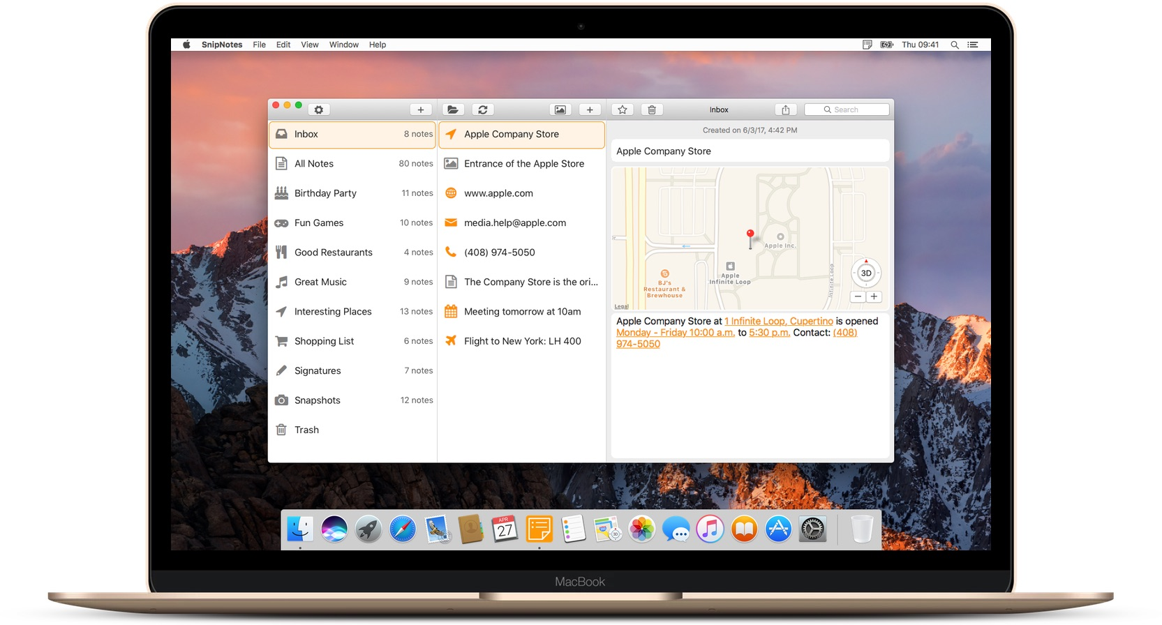 Note-taking app SnipNotes arrives on the Mac Image