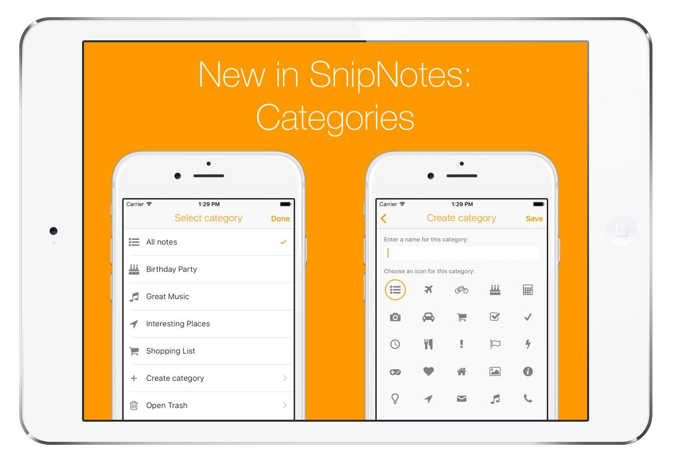 SnipNotes 2.1
